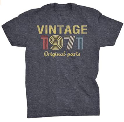 1971 vintage tshirts