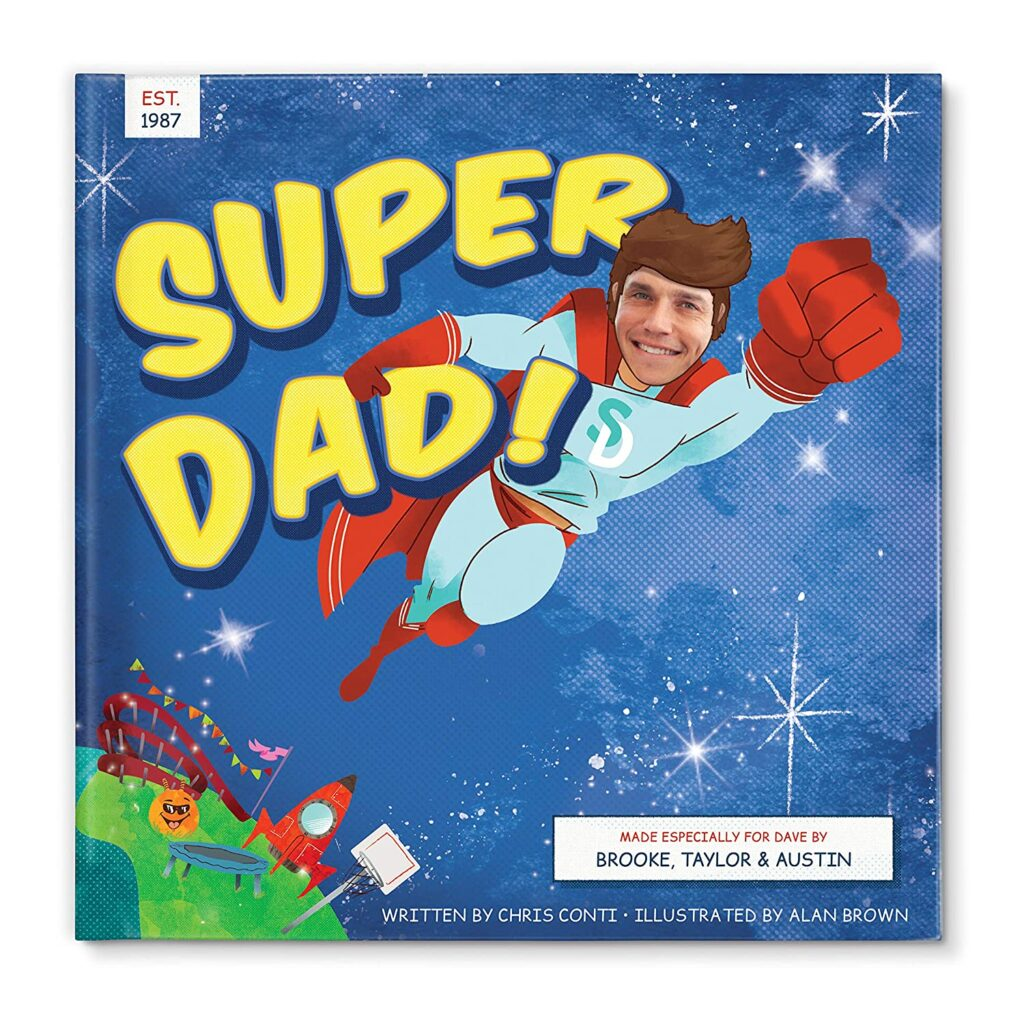 super dad Personalized Book