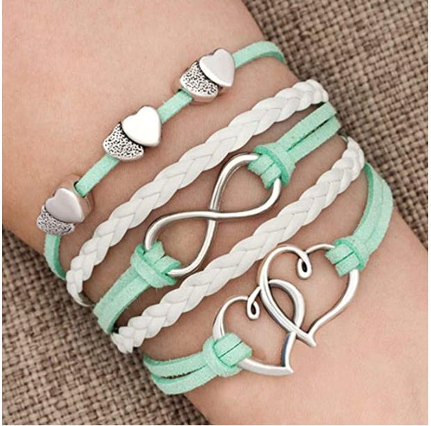 leather wrap bracelates