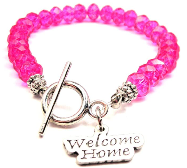 welcome home bracelete